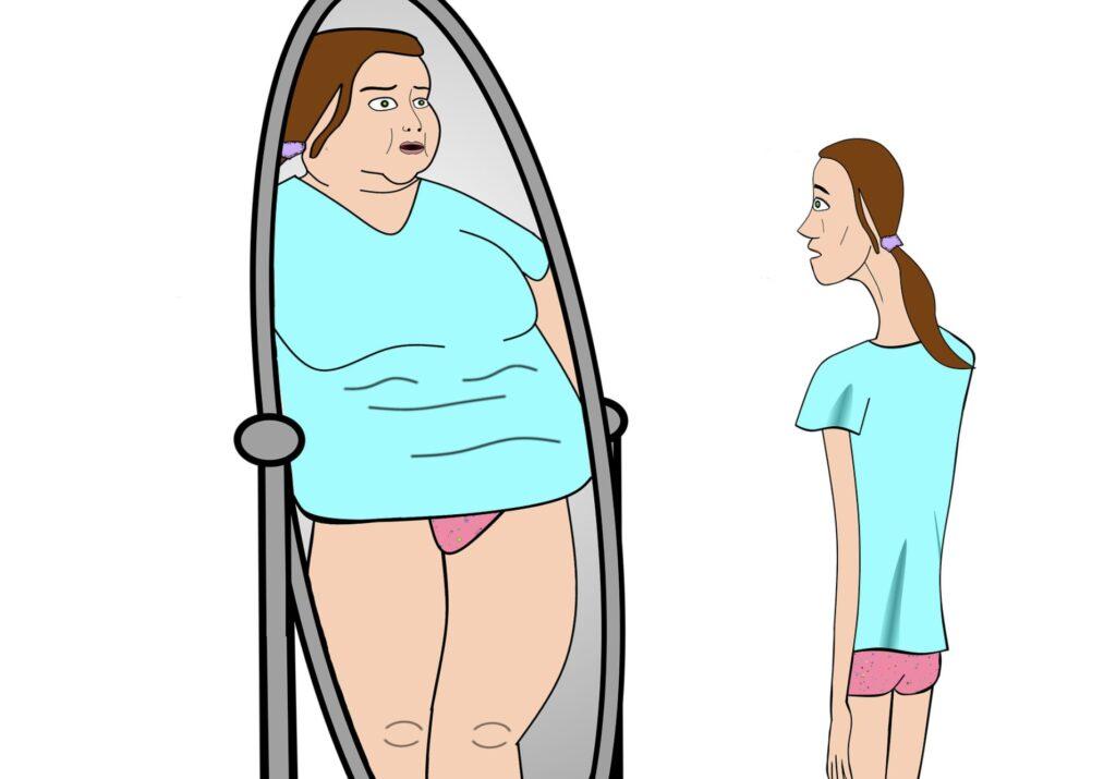 Afbeelding bij artikel anorexia